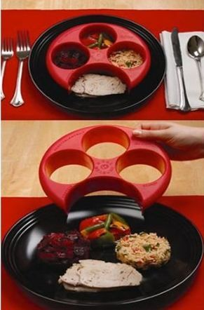 Portion control plate & Amazon: Meal Measure Portion Control Plate $7.98 | Portion ...