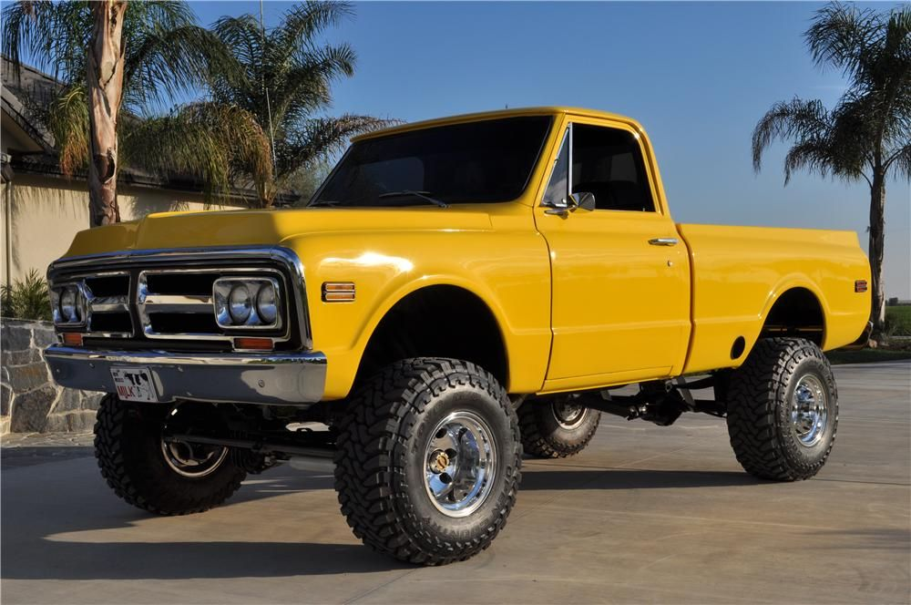 1972 Gmc Custom 4x4 Pickup Chevy Trucks Trucks Classic Pickup