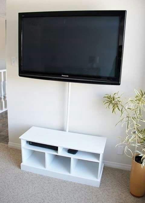 Tubo para ocultar cables | organizando mi casa | Pinterest
