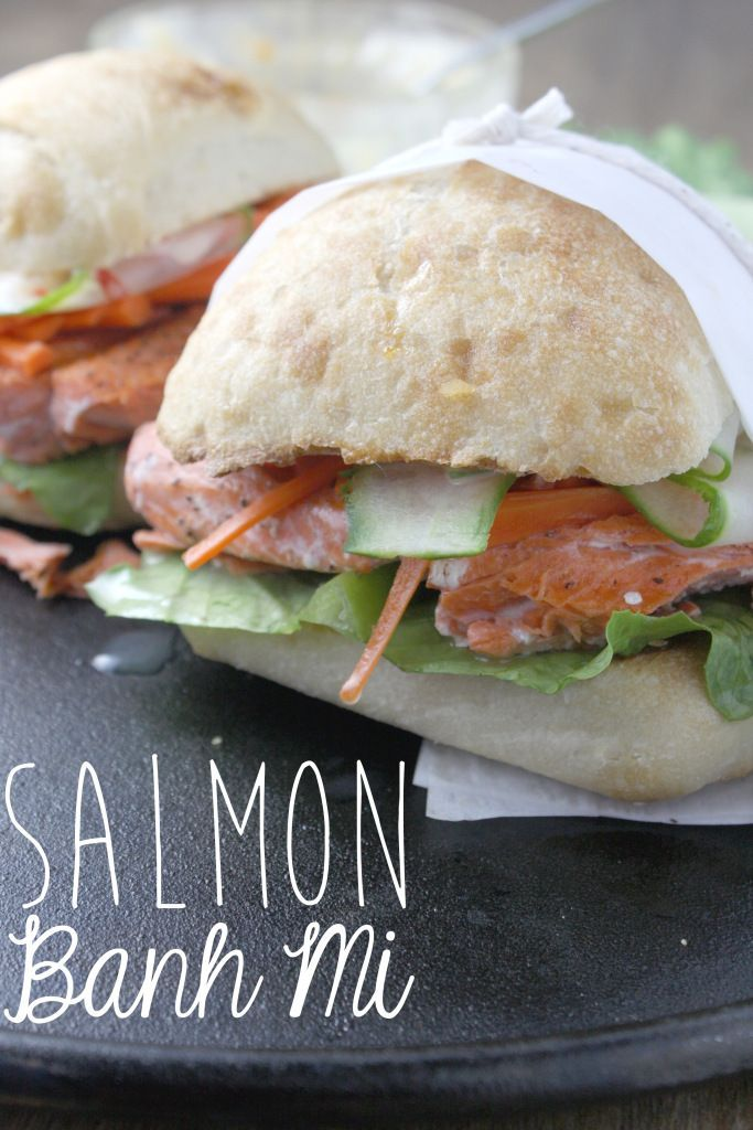 Salmon Banh Mi Recipe (With images) Cooking recipes