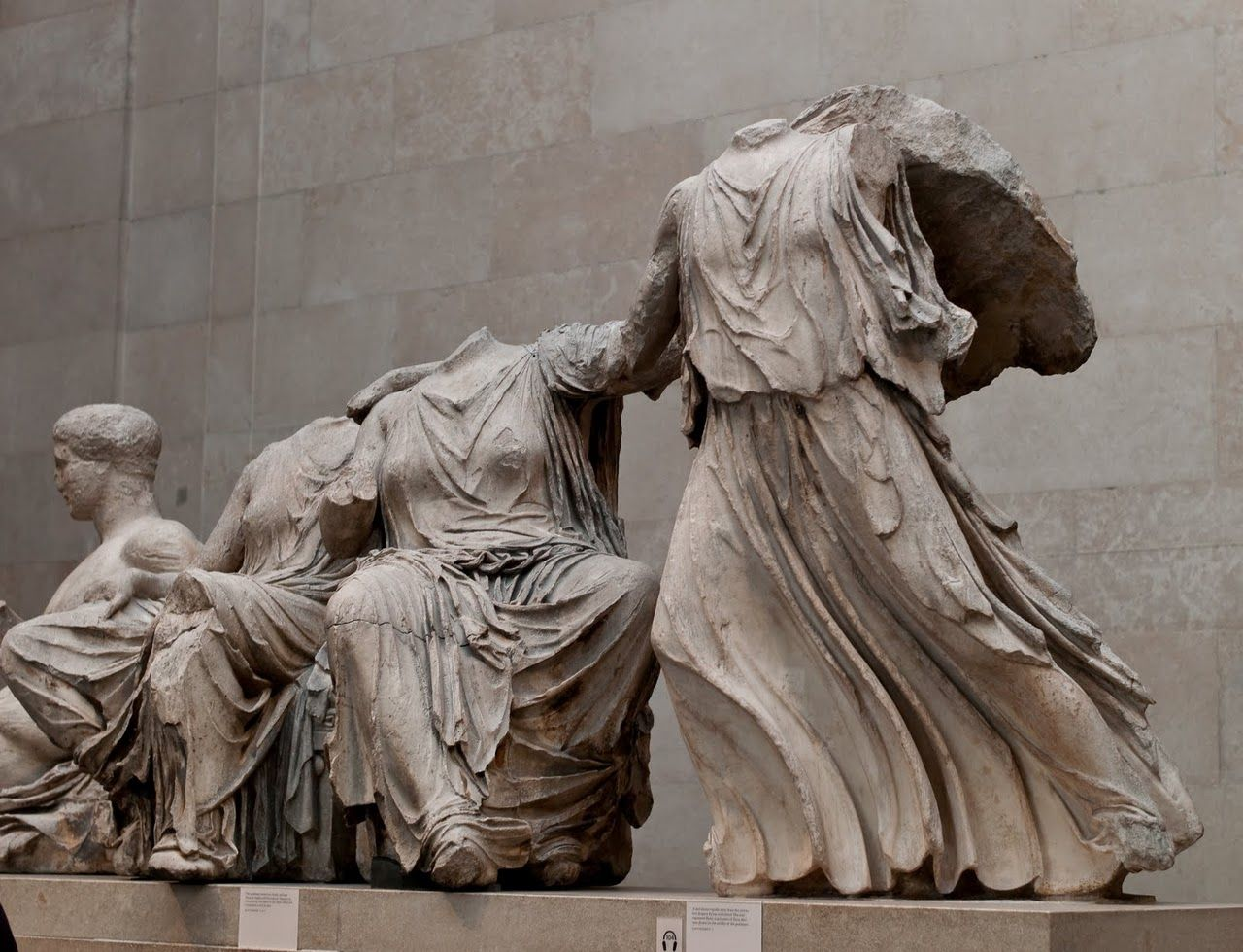 Phidias Greek Sculptor Elgin Marbles From The Parthenon Bce British Museum London