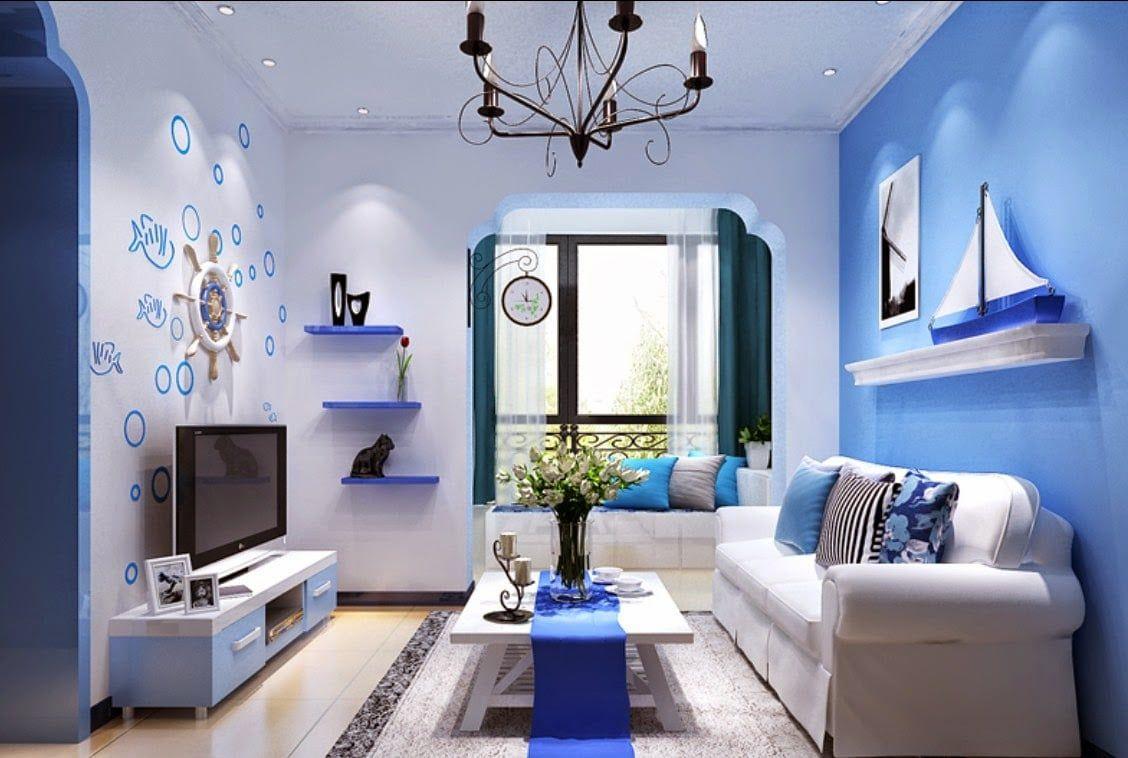 Desain Warna Ruang Tamu Minimalis di 5  Warna ruang tamu