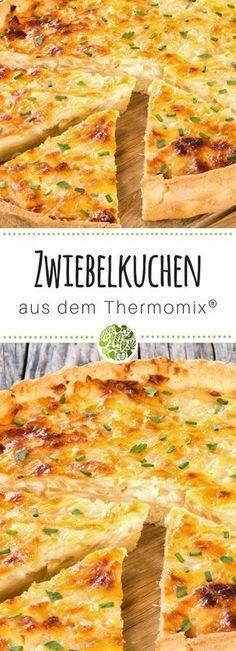 Zwiebelkuchen aus dem Thermomix® #rezepteherbst