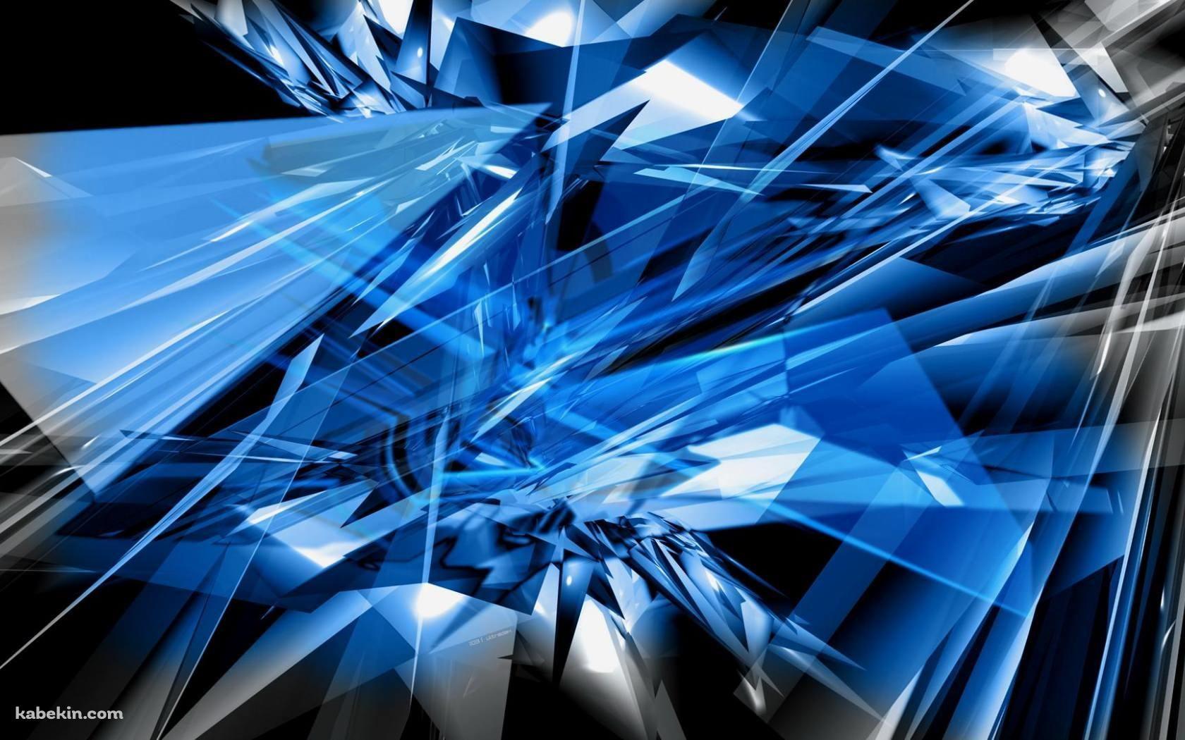 黒と青のアブストラクトの壁紙 アブストラクト 青いガラス 青い壁紙