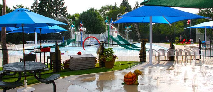Oak Brook Outdoor Pool Splash Island Oak Brook Park District Chicagoland Summer Bucket