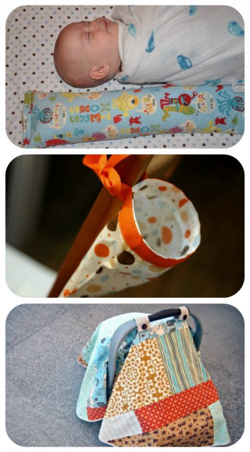 The BEST list of handmade baby things I've ever seen, really.