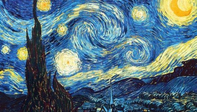 La nuit etoilé, Van Gogh