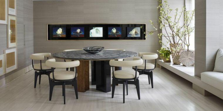soluzione-per-arredare-salotti-moderni-zona-pranzo-grande-tavolo ...
