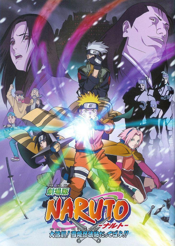 naruto movie 1 clash in the land of snow kakashi orders naruto sasuke