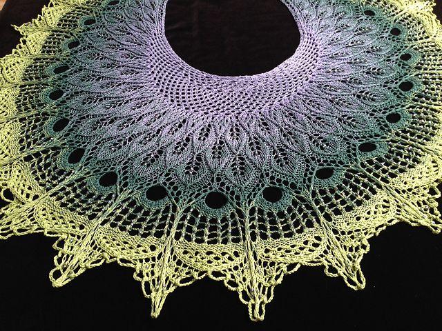 Renaissance Shawl pattern by Anne-Lise Maigaard | Tejido en crochet ...