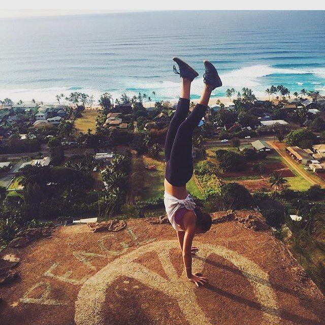 Handstands in Hawaii