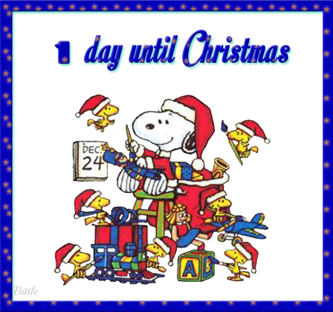 1 Day Until Christmas quotes quote snoopy christmas