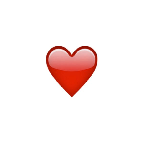 Heavy Black Heart ❤ liked on Polyvore featuring emoji