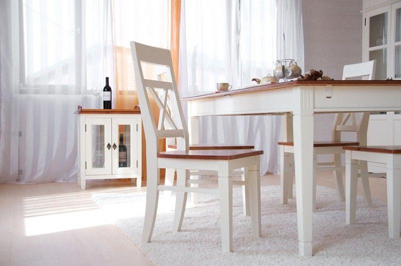 Essgruppe 180cm Gotland - Esstisch & 4 Stühlen +1 Sitzbank - Pinie ...