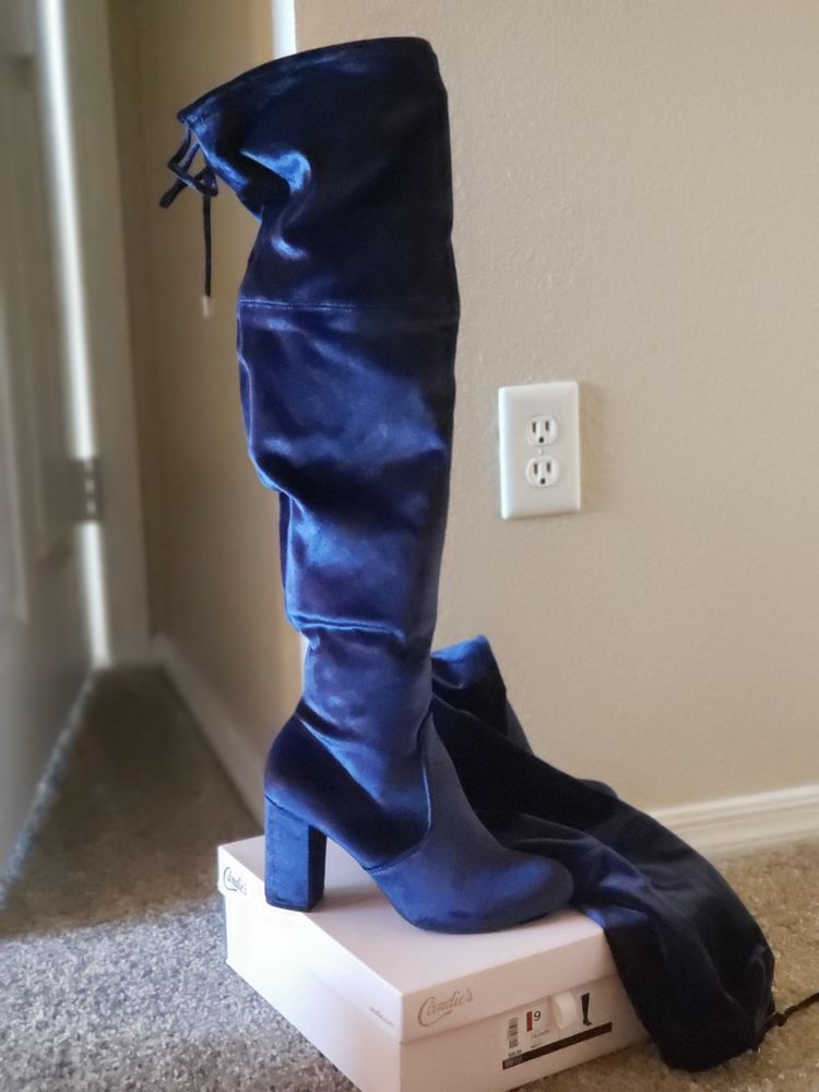 f39c0475f9769 Womens over the knee boots size 9 #fashion #clothing #shoes ...