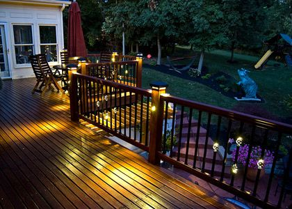 Deck lighting ideas led recessed lights led deck lighting deck lighting ideas led recessed lights led deck lighting post caps mozeypictures Gallery