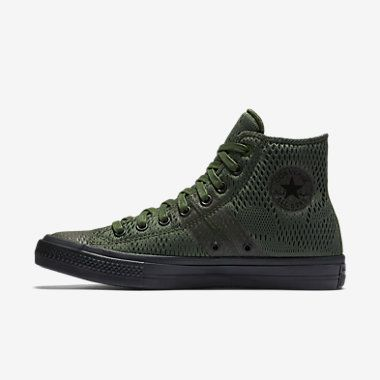 Converse Chuck Taylor All Star II Engineered Mesh High Top Shoes Olive
