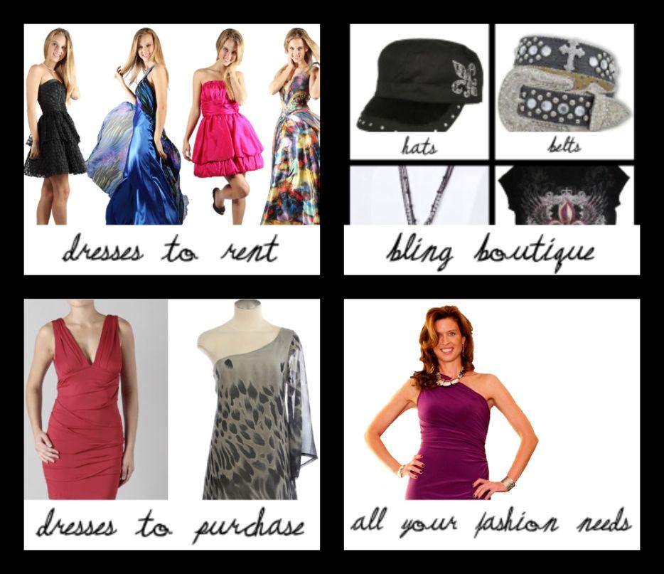 Wear Today Gone Tomorrow And The Wtgt Bling Boutique Designer Dress Rental Dress Rental Designer Dresses