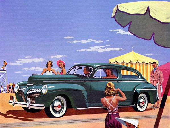 1941 DeSoto with Miracle Ride