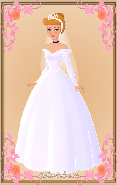 Cinderella Wedding Dress By Kawaiibrit On Deviantart
