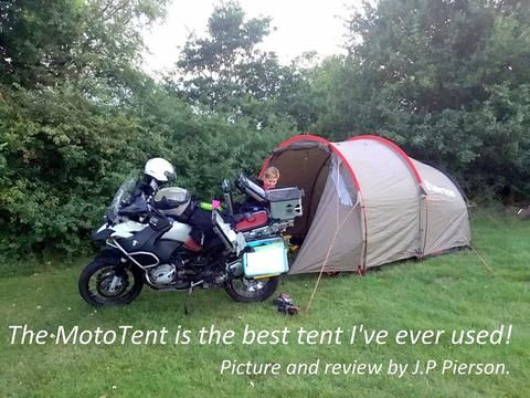 MotoTent v2 - Lone Rider - Motorcycle Tent and C&ing Expert & MotoTent v2 - Lone Rider - Motorcycle Tent and Camping Expert ...