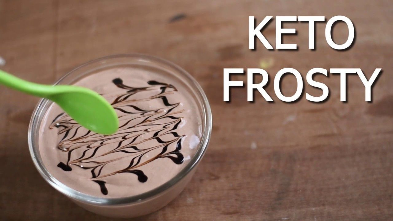 EASY KETO CHOCOLATE FROSTY - The BEST low carb dessert recipe #chocolatefrosty EASY KETO CHOCOLATE FROSTY - The BEST low carb dessert recipe #chocolatefrosty
