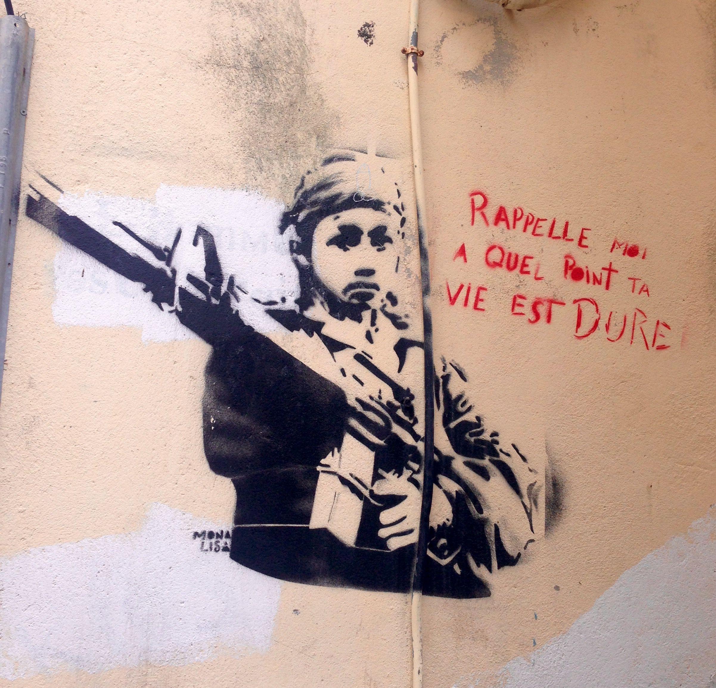 Épinglé par France Auda sur Street art Calvi, Lisa