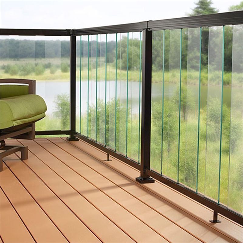 Find Peak Balustrade 1 8m Clear Sectional Glass Kit At Bunnings Warehouse Visit Your Local Sto Balcony Grill Design Balcony Railing Design Deck Railing Design