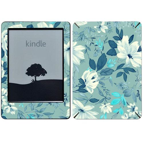 Flowers Texture Kindle Decal Skin For e-reader Amazon Kindle6
