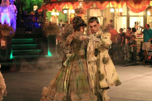 Haunted Mansion zombie ghost dancer costumes!
