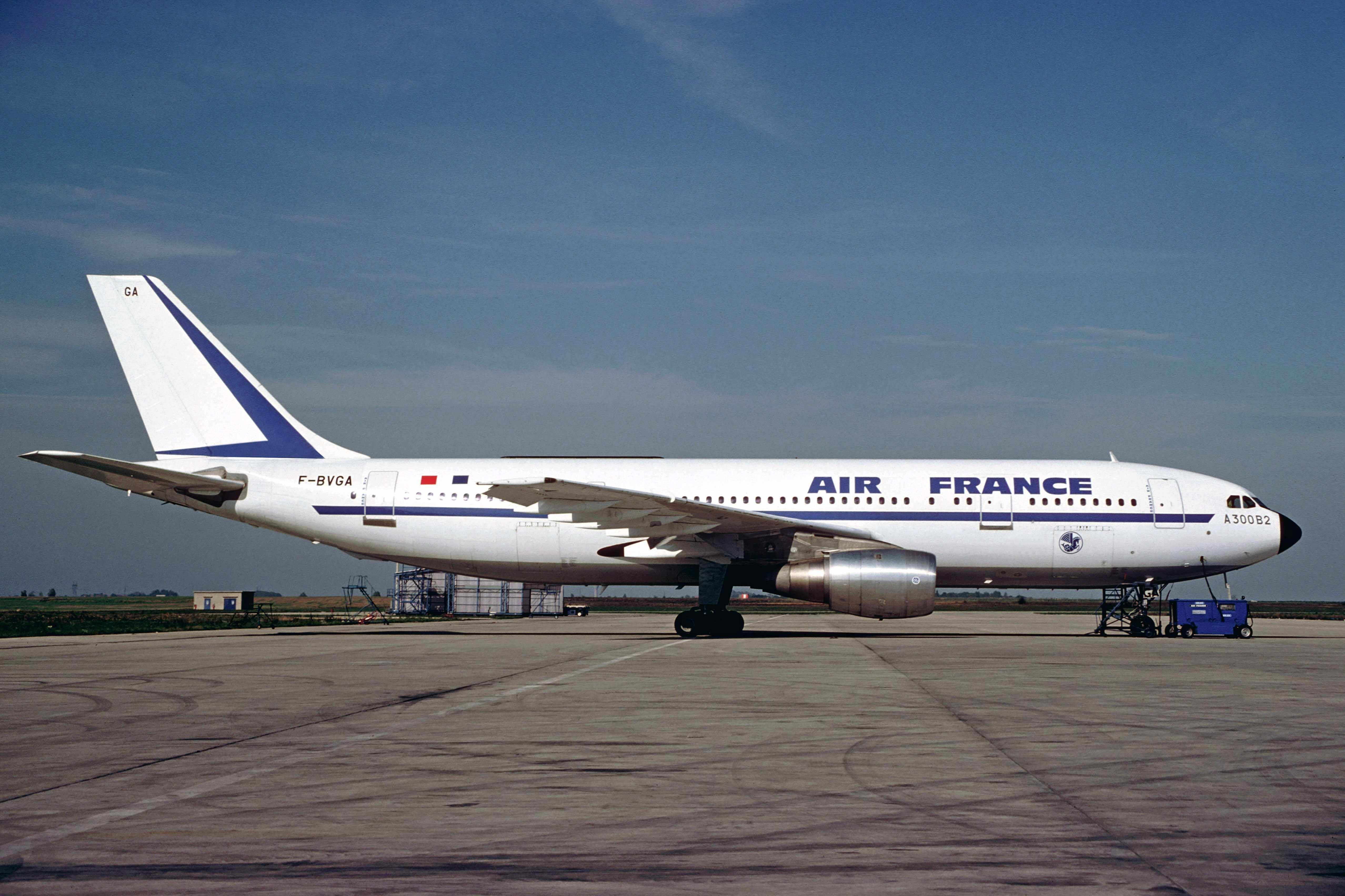 Air FranceAirbus A300 Real Flying Machines Pinterest