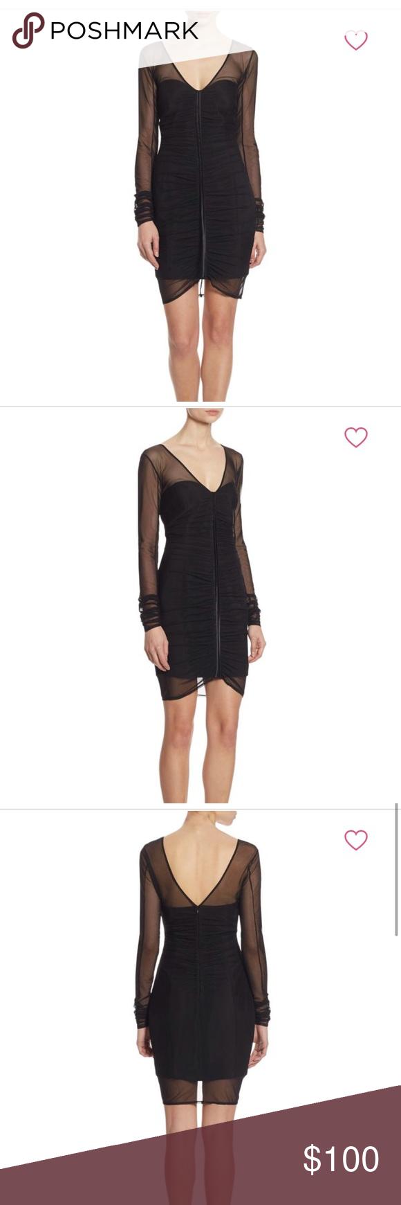 Black cinq a sept dress my posh closet pinterest long sleeve