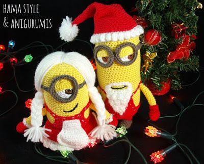 Nuestros amigurumis, también celebran la Navidad, es por eso que hoy ...