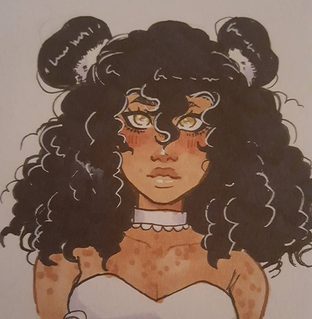 1 787 Likes 48 Comments The Great Bambino Vanilla Bambi On Instagram Nikki Trying Out New Hairstyles Dont As How To Draw Hair Afro Art Black Women Art