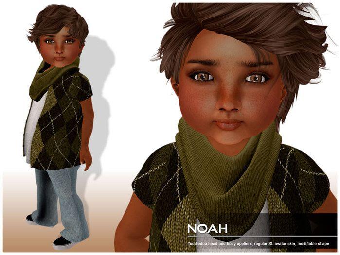 Toddleedoo baby boy skin and shape Noah #SecondLife #SLFashion