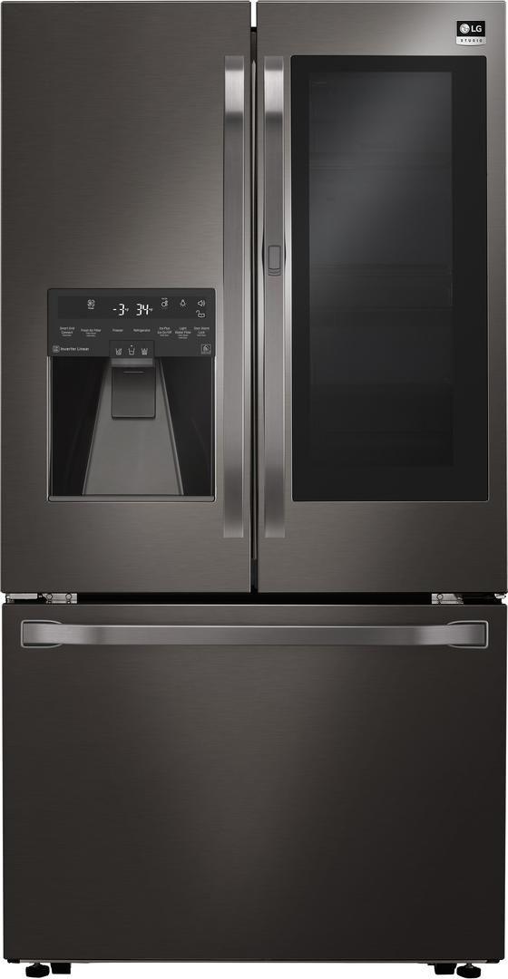 Lg Studio Lsfxc2496d 36 Black Stainless Steel Series Counter Depth