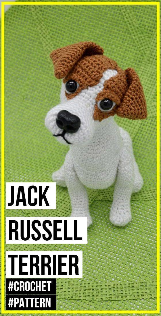 crochet Jack Russell Terrier pattern