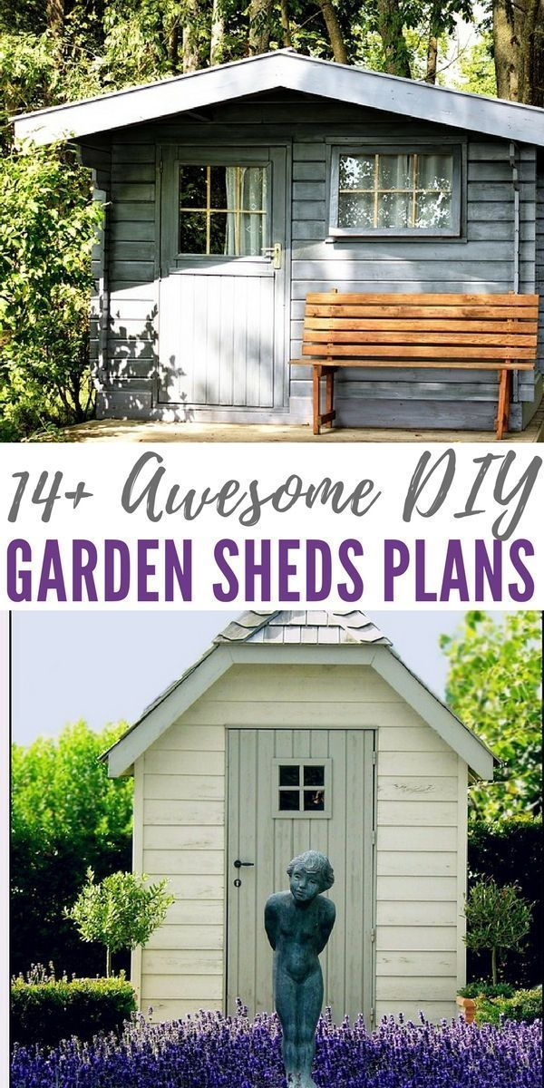 14 awesome diy garden sheds plans although building your own 14 awesome diy garden sheds plans although building your own garden shed is a large undertaking doing it yourself can cut down considerably on solutioingenieria Gallery