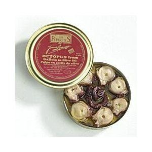 Los Peperetes 'Pulpo' - Octopus in Olive Oil - 150g: Amazon.co.uk: Grocery