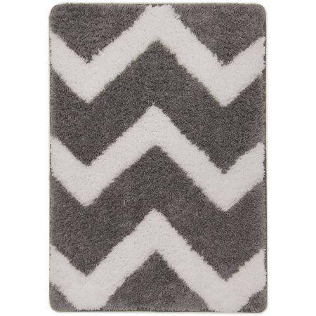 Home Grey Flannel Memory Foam True Colors