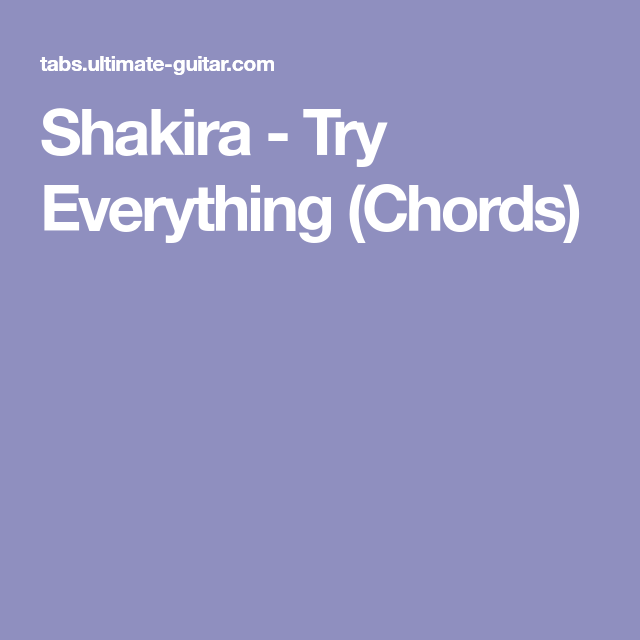 Famous Everything Chords Pictures Beginner Guitar Piano Chords