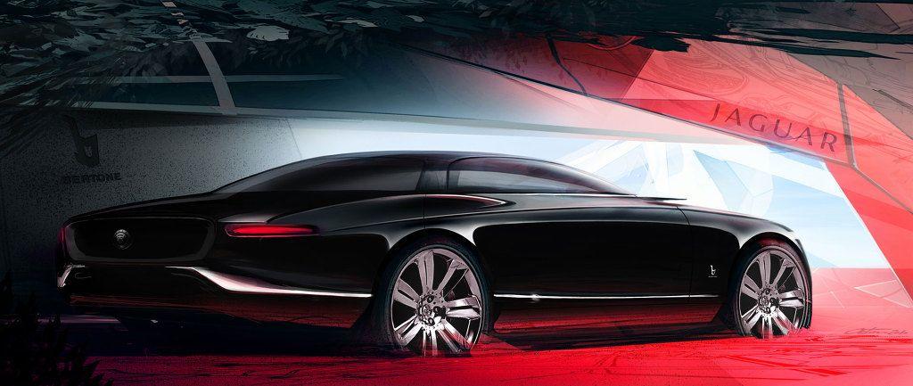 Bertone Jaguar B99 Concept Design Sketches 2011 Car Sketch And