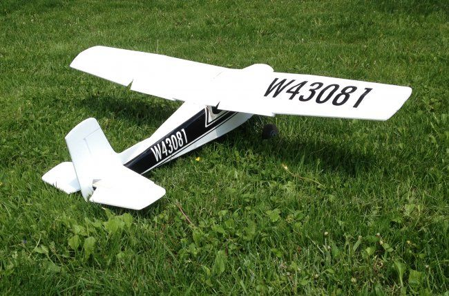 Cessna 180  Swappable with plans  VIDEO & BUILD | Model