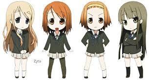 Resultado De Imagen Para 4 Amigas Chibi Dibujos Chibi Kawaii