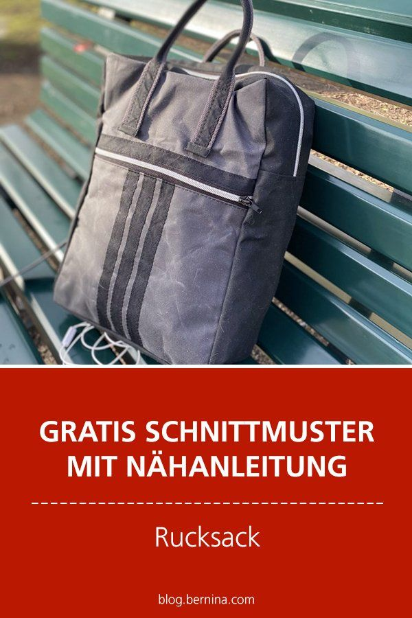 Photo of Gratis-Schnittmuster & Nähanleitung: Rucksack