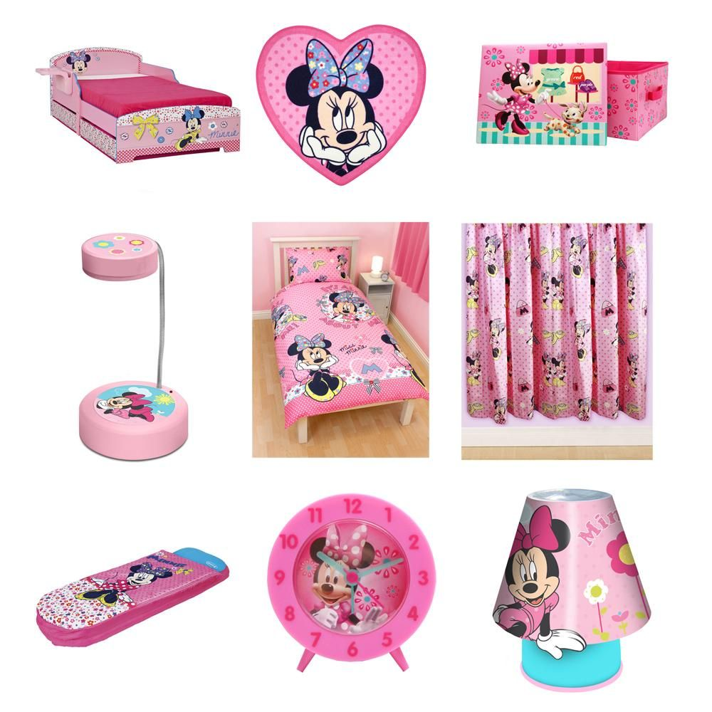 Minnie mouse bedding, duvet covers & bedroom accessories - free ...