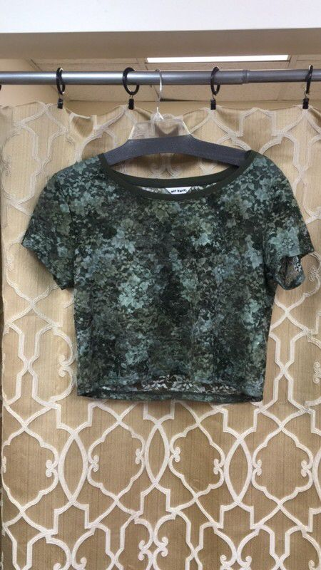07a46c940d My Map To Mars lace camo t-shirt size small by Map To Mars!