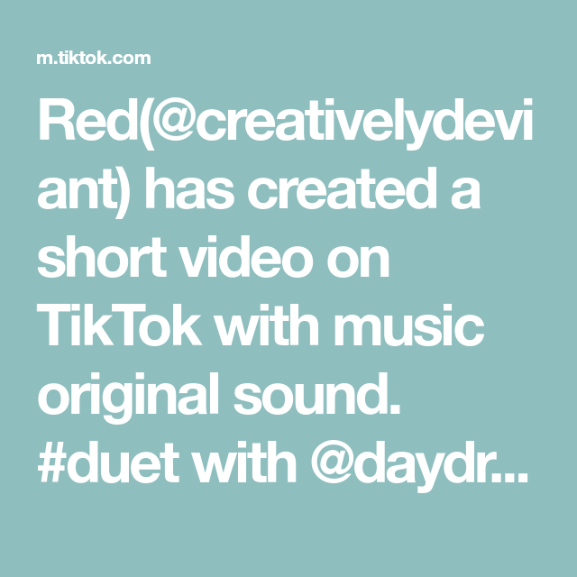 Red Creativelydeviant Has Created A Short Video On Tiktok With Music Original Sound Duet With Daydream D In 2020 Nagito Komaeda My Heart Is Breaking The Originals