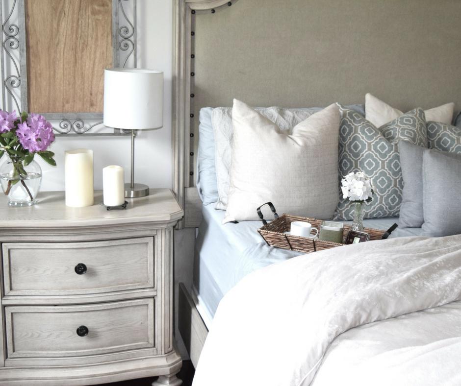 How to Whitewash Your Brick Fireplace | Feminine bedroom ...