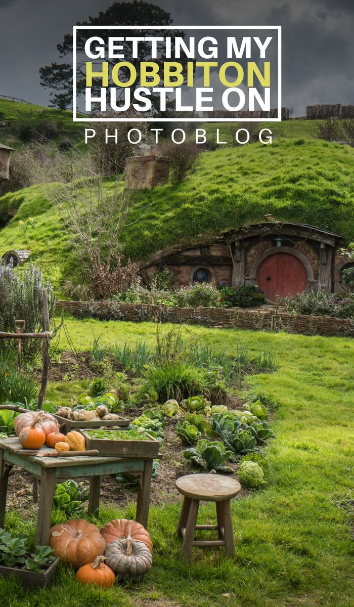 [Photoblog] Getting my Hobbiton Hustle On - Castaway with Crystal